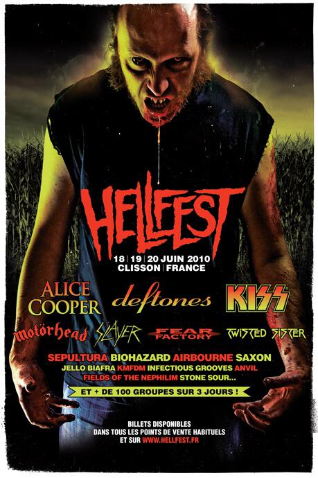Hellfest 2010 Poster