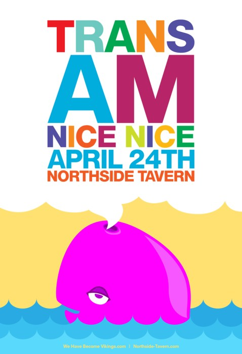 04.24.10.TransAM_Poster_Small Show Review -  04.19.10 - Trans AM (w/Jonas Reinhardt & Nice Nice) at Middle East