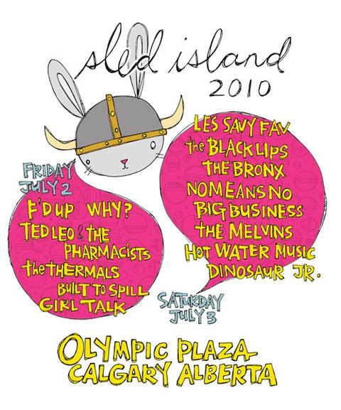 sledisland2010poster Events - Sled Island 2010