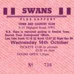 swans On Tour + Posters - Swans