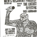 Mens-Recovery-Project-+-The-Locust-+-Sleestak-+-Fast-Forward Three One G / 31G Photo Archives - Bands + Posters