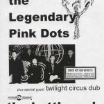 thelegendarypinkdots Legendary Pink Dots - 2010 Tour Dates + Posters