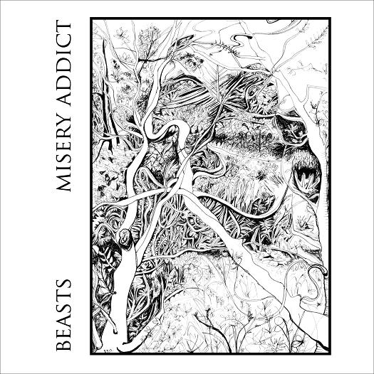 Misery-Addict-Beasts-Split Review - Misery Addict / Beasts Split