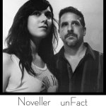 Noveller-unFact New/Upcoming - Noveller/unFact - Bleached Valentine (Self-Released) + Self-Titled Split (TQA)