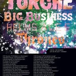 Torche-Big-Business-Helms-Alee-Thrones-Tour-Poster Torche / Big Business / Helms Alee 2011 Summer Tour Dates