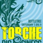 Torche-Big-Business-Helms-Alee-Tour-Poster Torche / Big Business / Helms Alee 2011 Summer Tour Dates