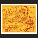 Helmet-Hammerhead-Quicksand-1992-Poster-by-Uncle-Charlie Helmet -  2011 North American Tour Dates + Posters