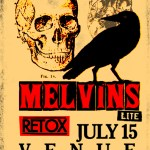 Melvins-Retox-Poster-2012 On Tour - Summer of 2012 - Melvins Lite, Unsane, ASIWYFA and more!