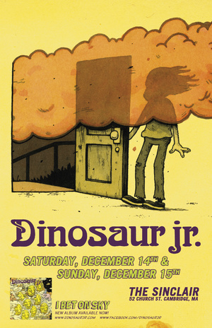 Dinosaur-Jr---I-Bet-On-Sky-Album-Cover Show Review - Call of the Wild / Dinosaur Jr. at the Sinclair (12.15.2013)