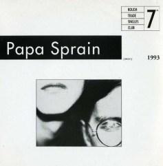 Papa-Sprain Mixtape - British Post Rock