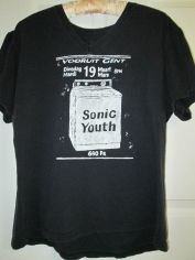Pre-owned Vintage 1996 Sonic Youth Belgium Tour T-Shirt (Washing Machine) Design