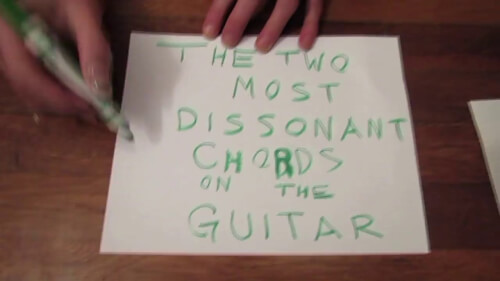 Watch: The Two Most Dissonant Chords on the Guitar