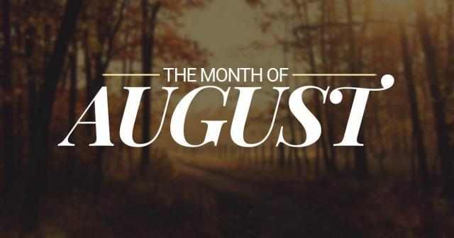 month-of-august Summary – August 2018