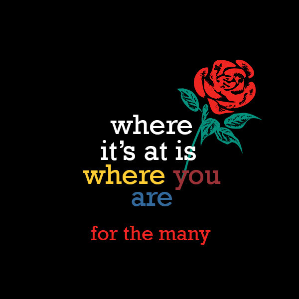 Where Its At Is Where You Are Record Label Logo
