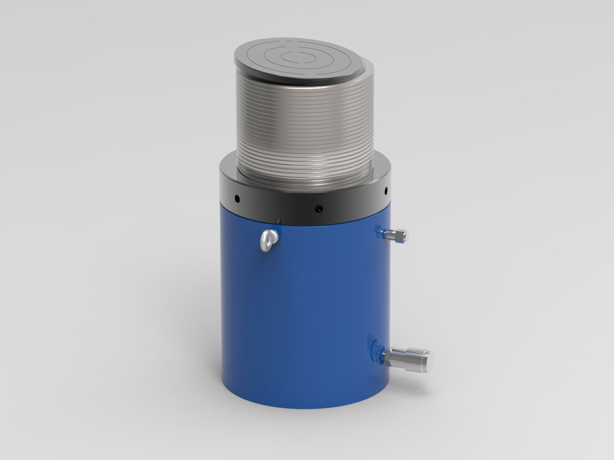 IHS Single Acting Lock Nut Cylinder