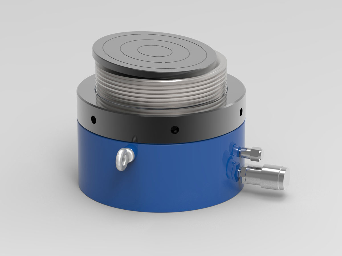 IHS Single Acting Low Lock Nut Cylinder