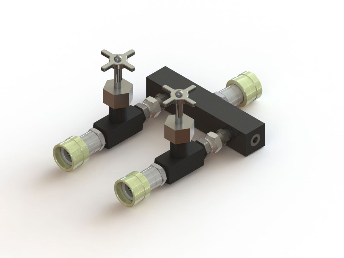 IHS Flow Control Valve Manifold, 5-Port