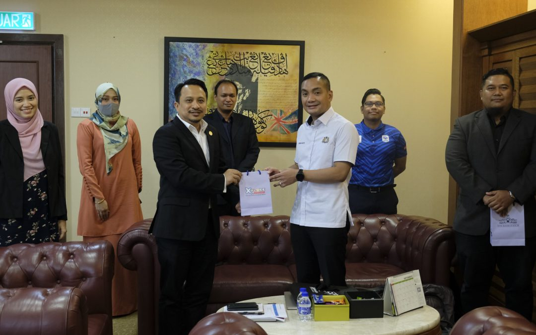 Courtesy Visit to Johor Tourism, Youth and Sports Office