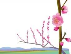 桃の花2-min