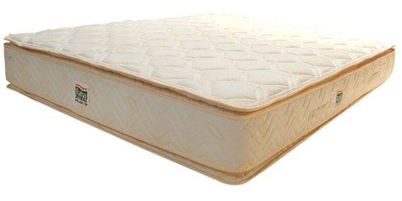 Athena 10 Inch Thick King Size Pillow Top Pocket Spring Mattress By Raha