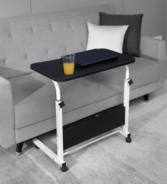 empire height adjusting portable laptop table in wenge finish