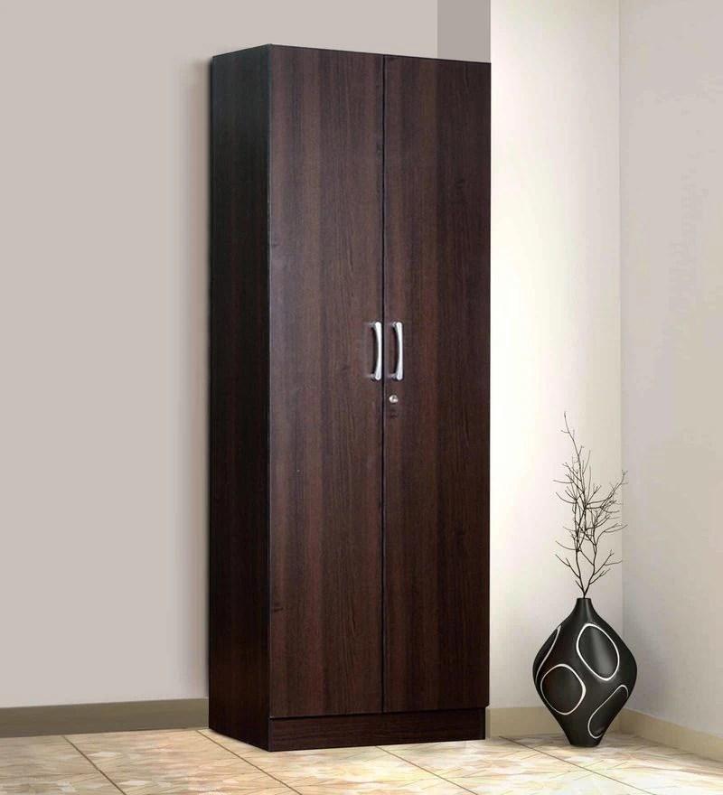 Buy Kenzou Two Door Wardrobe In Wenge Finish By Mintwud
