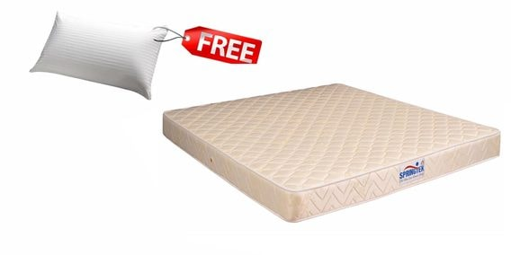 Classic Care Queen Size 78 X 60 6 Inches Thick Bonnel Spring Mattress