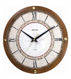 Swagger 12 Inch Dial 18X18 Inches Cherry Brown Wall Clock Vintage Wall Clock Antique Wall