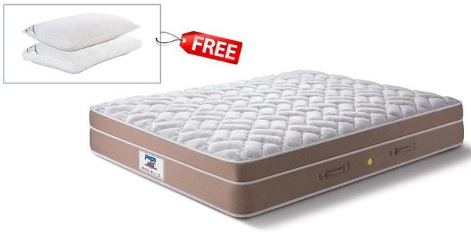 Restonic Fontaine Euro Top Single 10 Inch Pocket Spring Mattress By Peps India