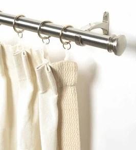 black iron curtain rod 52 144 inches