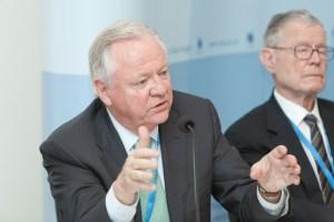 Bjorn Stigson at the IIASA Conference 2012