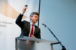 Jeff Sachs speaks at the 2013 Alpbach Forum. Photo Credit: European Forum Alpbach