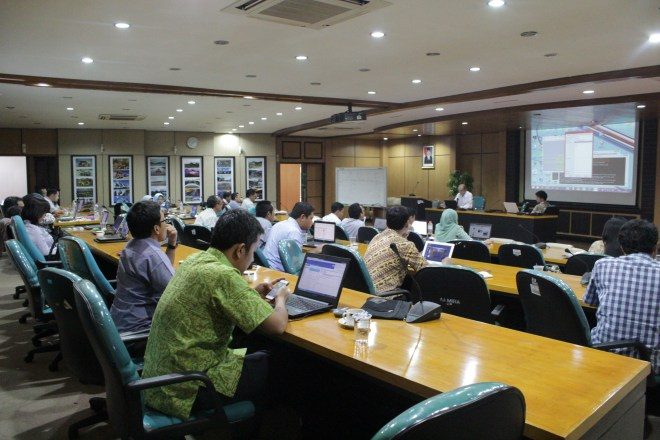 The IIASA and the Ministry of Energy and Mineral Resources of Indonesia screening workshop took place from 15-17 September. ©MEMR