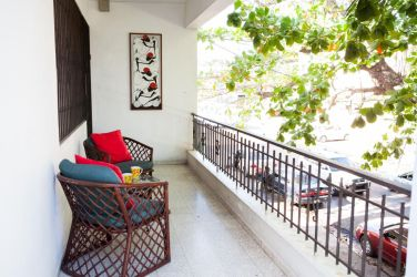 IIC Santo Domingo Accommodation School apartment3 Balcony IMG3127_ST