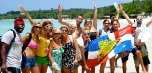 IIC Sosua Students in Punta Rucia