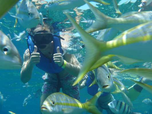 Snorkeling Sosua Bay