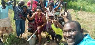 Reforesting Ghana with Click A Tree 019
