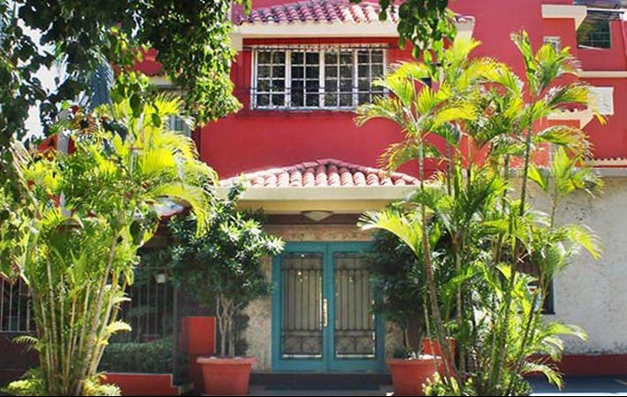 Hotel San Marco in Zona Gazcue is the mid-range hotel IIC Spanish School, Dominican Republic, is working with in Santo Domingo, only 10 minutes walking from the language school.