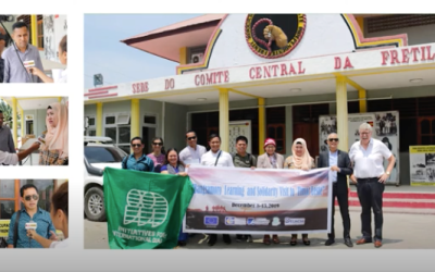 Bangsamoro Learning Visit to Timor Leste