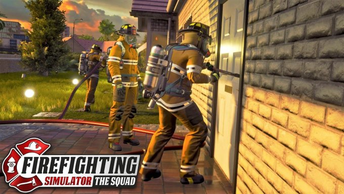 Firefighting Simulator The Squad Gameplay