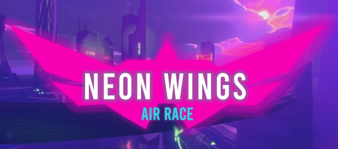 Neon Wings: Air Race Free Download
