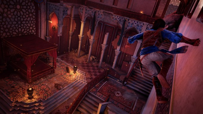 prince of persia sands of time remake gameplay