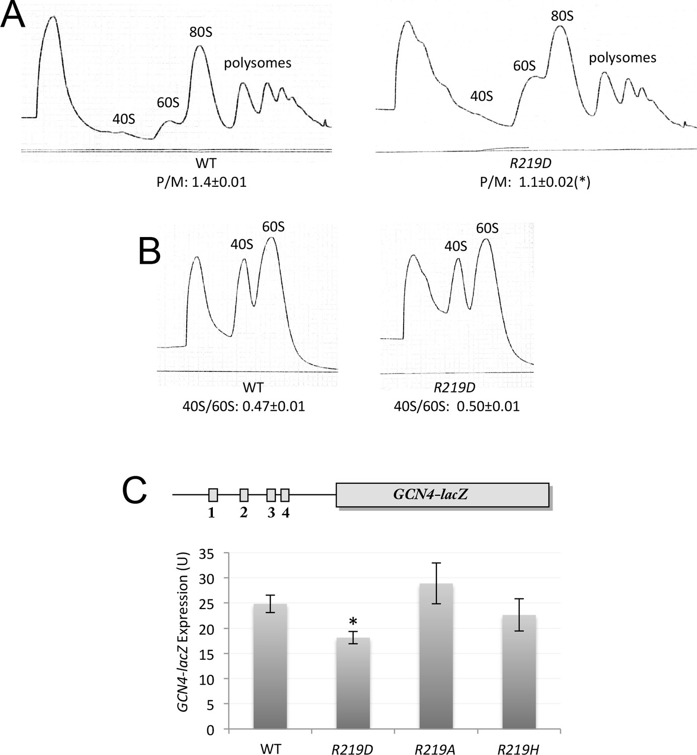 Figures And Data In Interface Between 40s Exit Channel Protein Us7 Rps5 And Eif2 Modulates