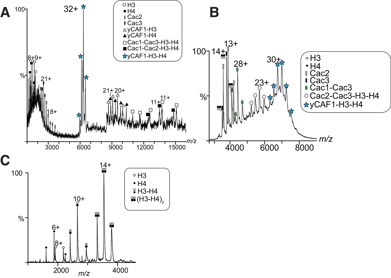 Figures And Data In Insights Into The Molecular Architecture And Histone H3 H4 Deposition