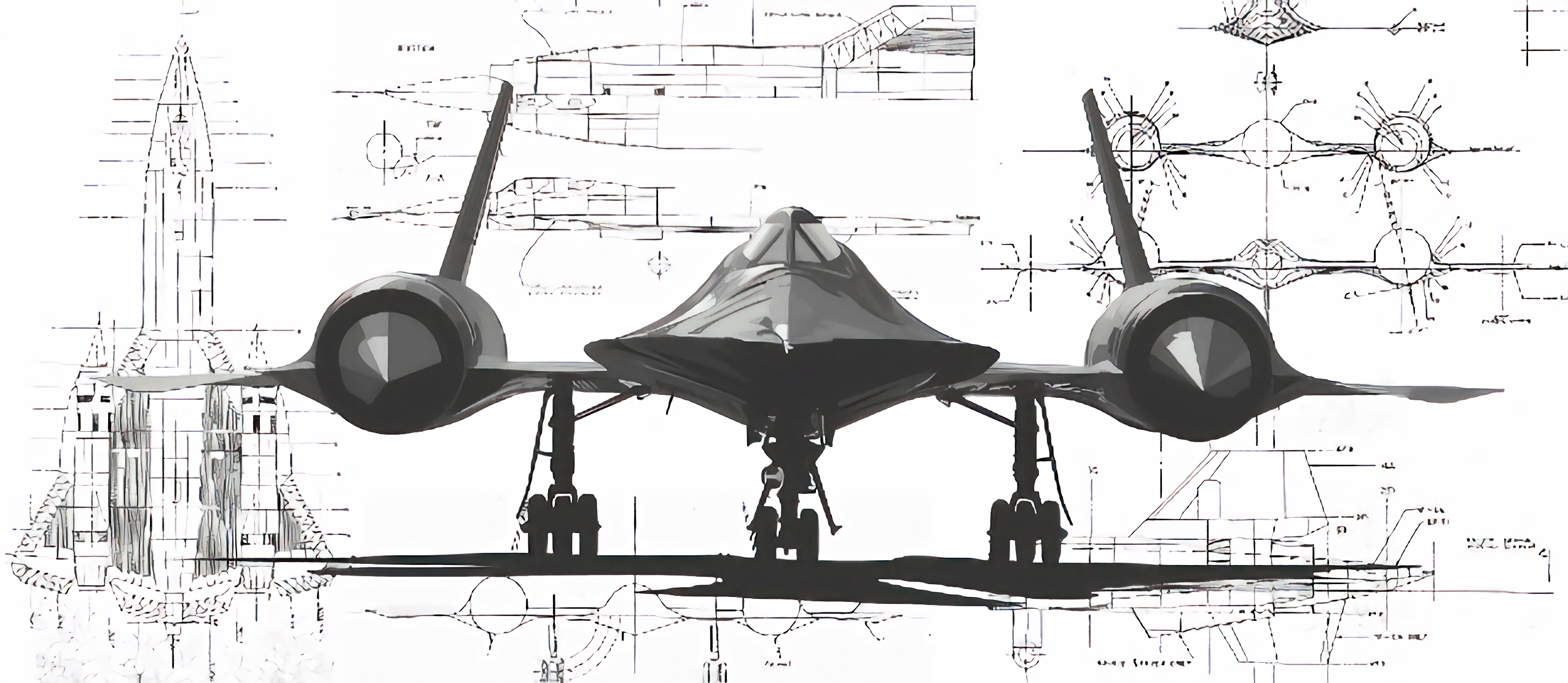 Sr 71 Schematics X Wallpapers