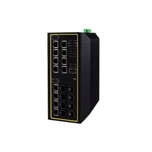 EHG7620 Series : 20-Port High-Bandwidth Industrial Managed Layer-3 Gigabit PoE Switch