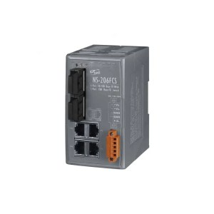NS-206FCS CR : Ethernet Switch/4 Ethernet/2 Fiber/SC/Si-Mode/15km