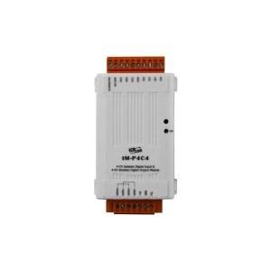 tM-P4C4 CR : I/O Module/Modbus RTU/tiny/4 DI/4 DO/OC/isolated