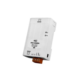 tNS-200IN CR : PoE injector/Ethernet in/PoE Out /1 Ch./48V/15.4W