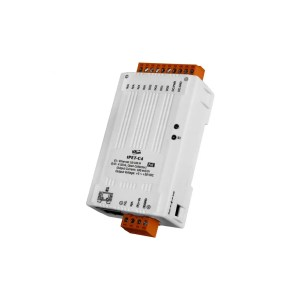 tPET-A4 CR : POE I/O Module/tiny/Modbus TCP/4DO/PNP/Source